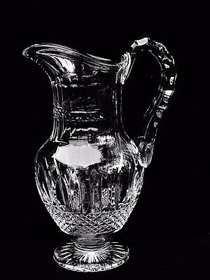 """Exquisite St Louis Crystal """"tommy"""" 40 Oz. Water Jug / Pitcher ~ Brilliant Cuts"""