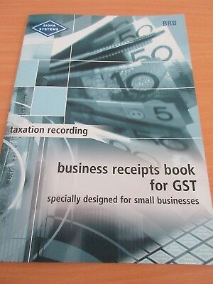 Zions – Business Receipts for GST Book BRB free postage