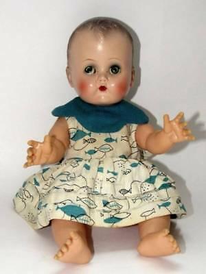 """Vintage 50's Ideal 14 Betsy Wetsy Doll- Molded Hair 13"""""""