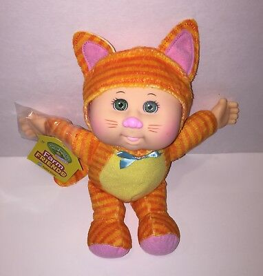 Cabbage Patch Kids Cuties Farm Friends Kallie Kitty ~ Brand New With Tag