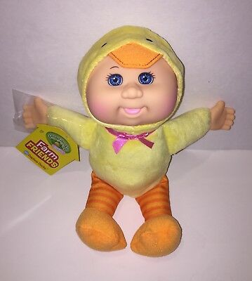 Cabbage Patch Kids Cuties Farm Friends Daphne Ducky ~ Brand New With Tag