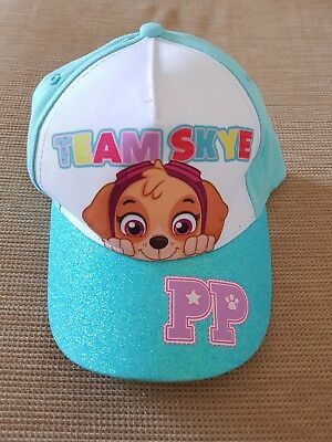 Nickelodeon Paw Patrol Team Skye Adjustable Hat Baseball Cap Cotton