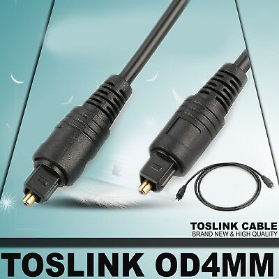 Digital Optical Fiber Toslink Audio Cable SPDIF For SKY DTS Surround Sound DVD