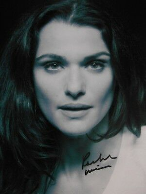 Rachel Weisz  8x10 auto photo in Excellent Condition