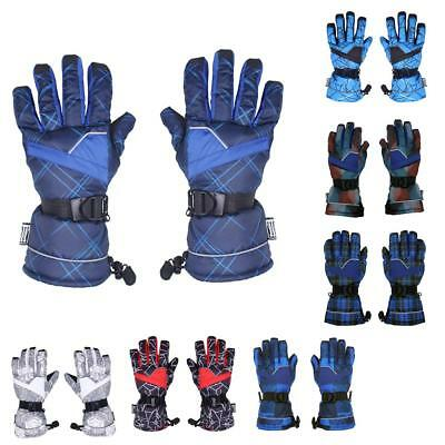 Winter Sports Gloves Snowboard Breathable Hiking Multicolor Adjustable Glove