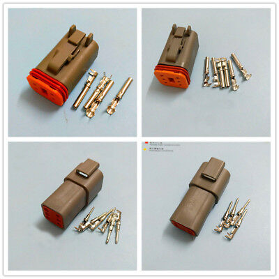 Deutsch DT 6 Pin 4 Pin DT06-4S/6S/DT04-4P/6P Female Male DJ3061 Connector Kit FZ