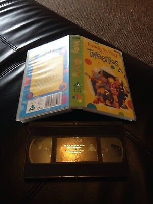 Ready To Play With The Tweenies Children's Video VHS