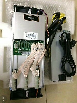 AntMiner S9 T9 + 1600W PSU 13.0Th/s two fan,13000Gh/s Asic Miner, Bitcon Miner