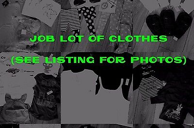 All Brand New Wholesale Job Lot Bundle Of Mixed Clothes Various Sizes And Brands