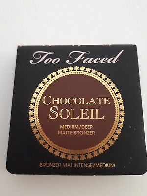 TOO FACED Chocolate Soleil Medium/Deep Matte Bronzer 2.5g Voyage