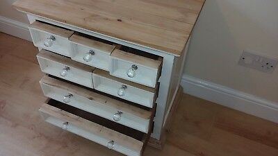 Chest Stripped Pine 7 Drawer