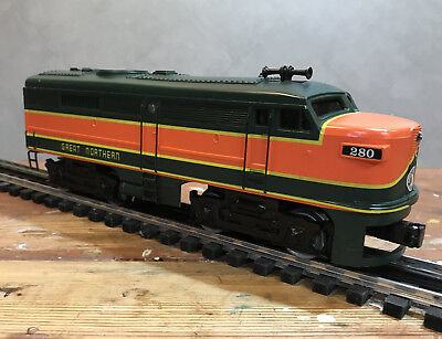 K-Line O Scale Alco Diesel A Unit #280, Great Northern