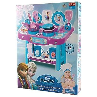 Disney Frozen Set Cucina Con 18 Accessori
