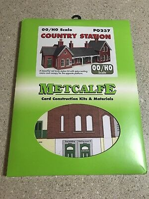 Metcalfe Card Kit Oo/ho Scale Po237 Country Station