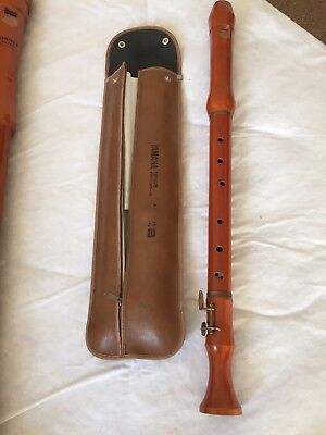 Yamaha Wooden Tenor Recorder and case