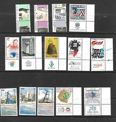 Israel Clearance Sale Extensive Large Lot Of Mint Stamps & Tabs  Very Low Start