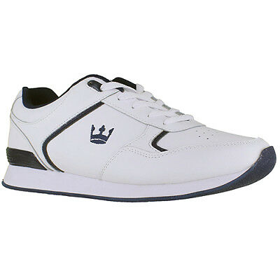 Crown King Gents Trainer Style Bowls Shoe, Lace Up - Size 6.