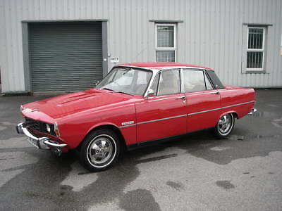1972 ROVER P6 Series Two 2000SC Manual Saloon