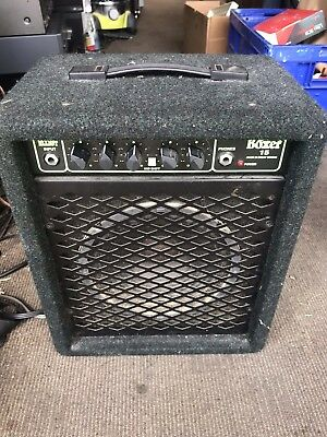 trace elliot boxer 15 bass guitar amplifier (made in England)