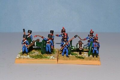 15mm Napoleonic painted French Foot Artillery PM02