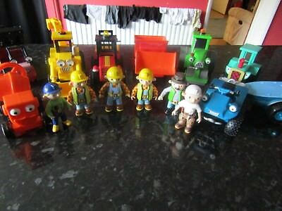 Bob The Builder Vehicles and figures bundle