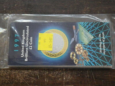 Great Britain 1997  £2.00 Coin In Unopened PRESENTATION PACK