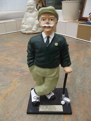 Fabulous Figurine Of A Golfer In His Dress Code
