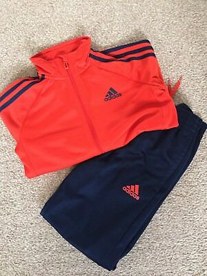 Boys Adidas Tracksuit Age 7-8 Years