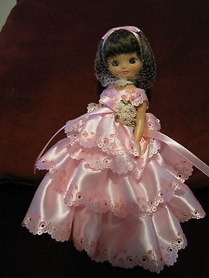 """Betsy McCall 8"""" In Formal Pink Gown Doll"""