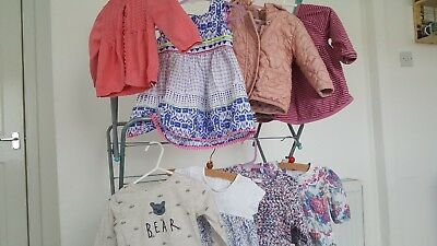 baby girls clothes bundle next monsoon m and s 3- 6 months 12 items
