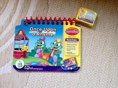 My First LeapPad Leapfrog. Cartridge & Book. Once Upon A Rhyme.