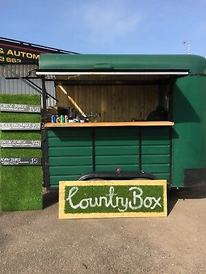 Catering Trailers, converted horse box,