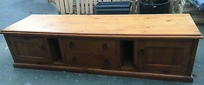 Used Solid Timber TV/ Entertainment Unit