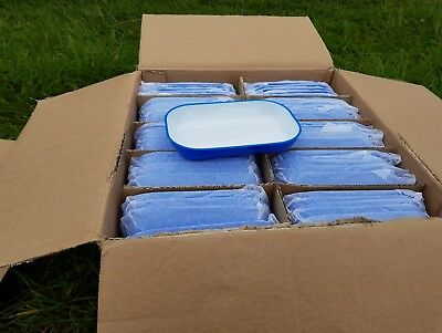 100 small plastic dishes ex airline stock ideal for parties snack trays etc