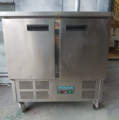 Polar Industrial Fridge. U636 Used.