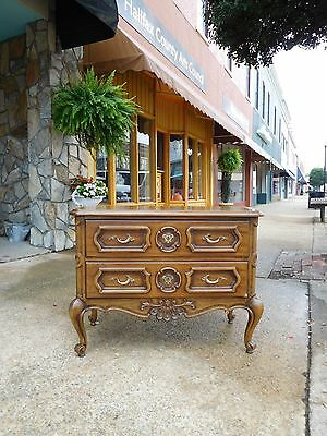 Fantastic French Walnut Chest by Drexel 20thc