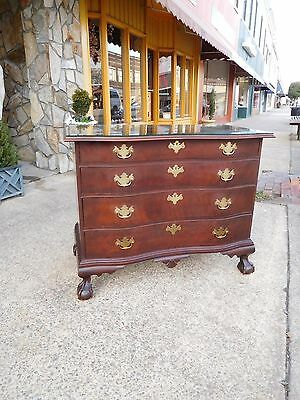 Outstanding Museum Reproduction Ball & Claw Chest By Colonial Furniture 20thc