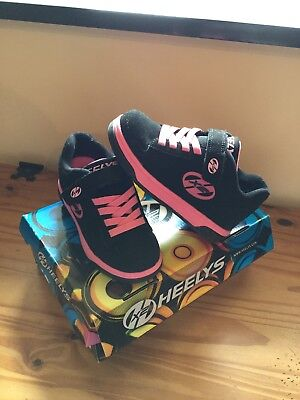 Girls Heelys Dual Up Size 12 Only Used Indoors *Immaculate*