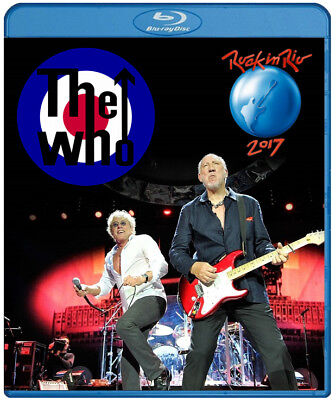 The Who live at Rock In Rio 2017 (Blu Ray)