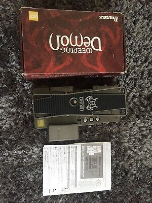 Ibanez Weeping Demon WD7 Wah Pedal with Box