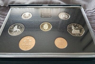1988 Proof Coin Set Royal Mint