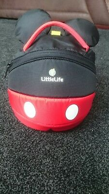 littlelife mickey mouse backpack