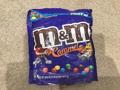 caramel m&m's chocolates not avaliable in UK. Huge party size 1077g