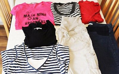 Maternity clothes bundle size 10-12 trousers jeans dresses tops Asos New Look