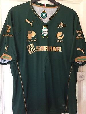 Santos Laguna Rare Mexican Football Shirt New