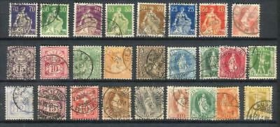 1882+ Switzerland , Lot Collection Used Stamps