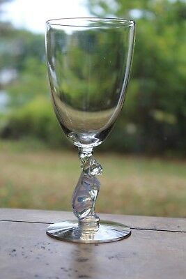 Libbey Silhoutte Cat Water Glass