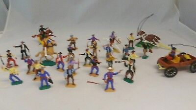 Vintage Timpo Cowboys  Job Lot Collection