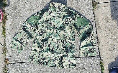 NEW Crye Precision AOR2 Army Custom Field Shirt LARGE-LONG (L-L) Navy SEAL