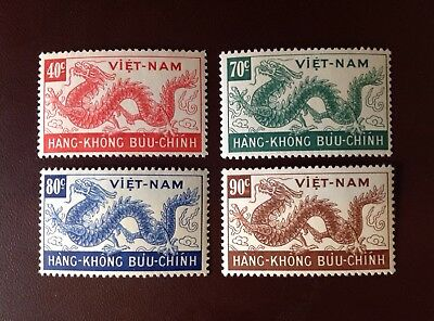 Vietnam 1952 Air Day Of Wandering Souls to 90c MNH